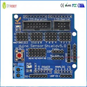China IO Expansion Board Sensor Shield for Arduino V5.0 Electronic Building Blocks Robot Parts on sale