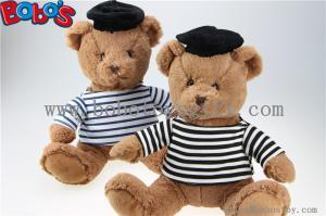 China Игрушки медведя подарка плюша плюшевого мишки военно-морского флота мягкие с рубашкой и черной крышкой матроса Стрипед on sale