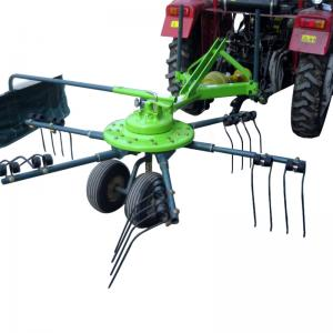 China Factory direct CE approved GALD-2500 3-point touched mini grass hay rake on sale