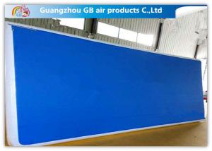 China 10ml Inflatable Air Tumble Track  Durable Inflatable Air Track For Gym Practice on sale