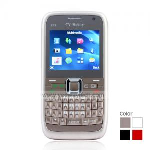 China Triple SIM Quadband Cell Phone with QWERTY Keypad + TV on sale