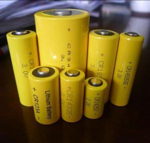 China Lithium CR123A Battery Lithium CR123A  (3V-1500 mAh ) High-Top on sale