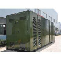Soundproof 60Hz 20ft Container Diesel Generator 900KW / 1125KVA CUMMINS KTA38-G4