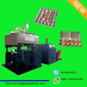 China egg box making machine on sale