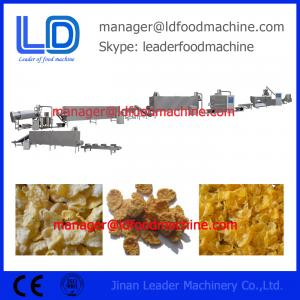 China Easy operatio corn flakes manufacturing machinery india on sale