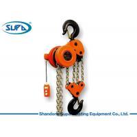 Heavy Duty Motor 10 Ton Chain Hoist , Chain Electric Hoist For Building