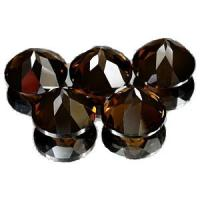Melee Nature Loose Precious Gemstones Smoky Quartz With Normal Faceted