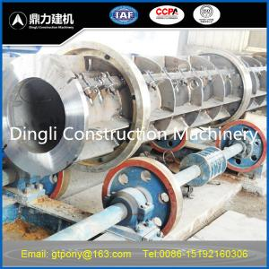 China concrete electric pole making machine on sale
