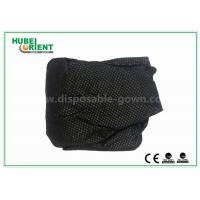 Customized Soft Black Nonwoven Disposable Thongs For Male , ISO9001 Standard
