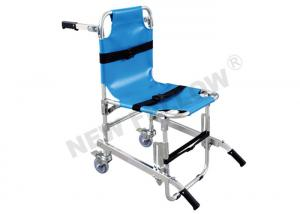 China Portable Medical Chair Stair Stretcher Patient Stretcher Trolley With 3pcs Belts on sale