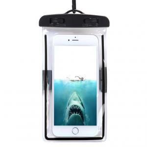 China Fluorescent Waterproof Cell Phone Pouch , Sensitive Touch Mobile Phone Waterproof Bag on sale