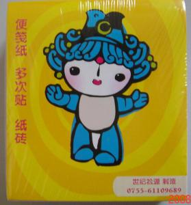 China letter shaped sticky notes supplier on sale