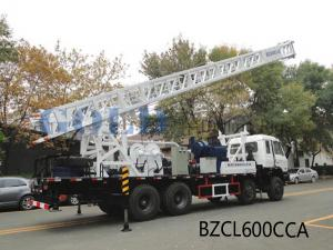 China Best quality lower cost  BZCL600CCA Truck mounted water well drilling rig on sale