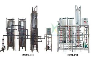 China High Speed Tank Ion Exchange Water Treatment Plant 3000LPH 1 Year Warranty on sale
