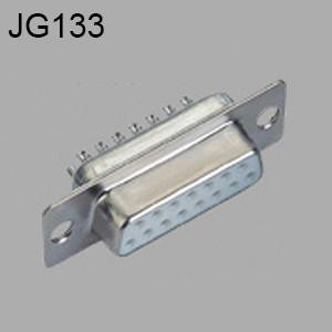 China D-sub solder type, white housing, two row- JG133 on sale