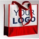 OEM Production Recyclable Tote Bags Custom Logo Non Woven Bag Material