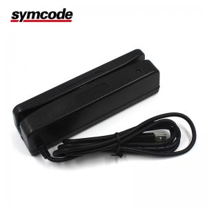 China Universal Barcode Magnetic Stripe Reader / Msr Card Reader Writer Plug And Play on sale