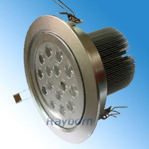 China 15W 1350LM 50 - 60HZ Warm White Led Kitchen Ceiling Light Fixture For Meeting Room on sale