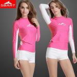 Ladies Long Sleeve Rashie Retail