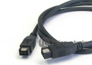 China IEEE 1394 Firewire 800 Cable / Custom Cable Assemblies For Camera Connection on sale