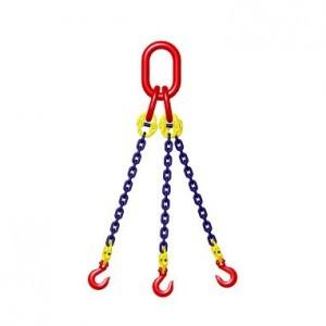 China Lifting And Holding Industrial Link Chain With Hook , 6-32mm Diameter on sale