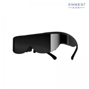 China ENMESI 3D Virtual Reality LCOS Glasses 40 Degree FOV 3D Smart Glasses With TYPE C input on sale