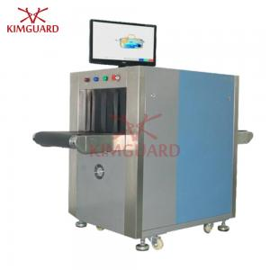 China Small  Airport X Ray Baggage Scanner With L-Shaped Photodiode Array Detector Sensor K5030A on sale