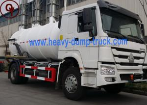 China High Pressure Sewage Suction Truck / Sewage Sucker 4x2 Driving Type on sale