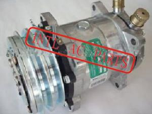 Quality SD5H14 6626 12V 132MM O-RING compressor for universal auto air conditioner for sale