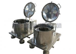 China CBD Oil Extraction Basket Centrifuge Machine With 12 Months Warranty on sale