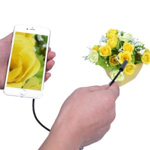China 2 In 1 Wifi Endoscope Waterproof Inspection Camera 1-5M 6LED For iPhone Android IOS 720P Iphone Camera Endoscope on sale