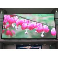 Large IP 65 PH7.62 indoor SMD Vivid hd led video display screen