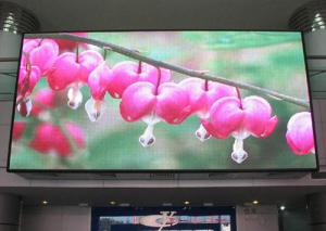 China Large IP 65 PH7.62 indoor SMD Vivid hd led video display screen on sale