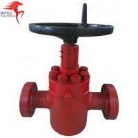 China China wellhead gate valve price and manufacturer 2-1/16'',2-9/16'' on sale