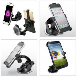China Portable 360 Rotating Car Windshield Mount Holder Stand Bracket for Cell Phone on sale