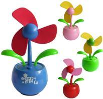 China Red Sunflower USB mini table fans UF-215-01 with powerful wind on sale
