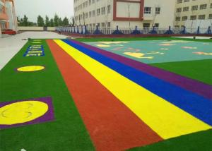 China DTEX10000 Kindergarten Playground School Artificial Grass on sale