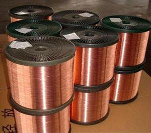 China CCA wire copper clad aluminum on sale