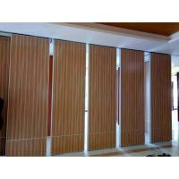Hanging Operable Accordion Acoustic Room Dividers on Tracks 85mm Width