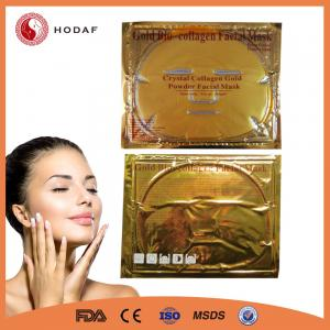 China beauty care product 24k anti aging golden crystal facial mask on sale