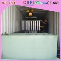 Restaurants Bars Containerized Block Ice Machine Low Electric Power Consumption