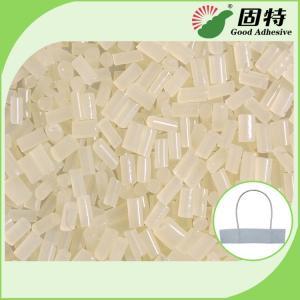 China EVA White granule For Paper Rope Handle Hot Melt Glue Adhesive  Paper Handbags Wrist rope EVA hot melt adhesive on sale