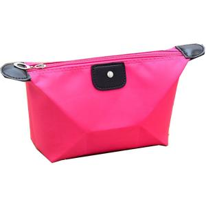 China Plain Microfiber Womens Travel Cosmetic Bags and Cases , Rose / Yellow / Blue on sale