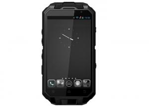 China BLACK FM G-Sensor GPS Slim Rugged Waterproof Smartphone With 3D Accelerator on sale