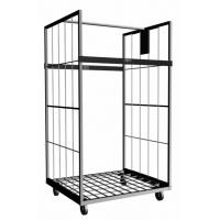 Galvanized Surface of Steel Roll Cage For Parcel Collection With Customized Dimensions