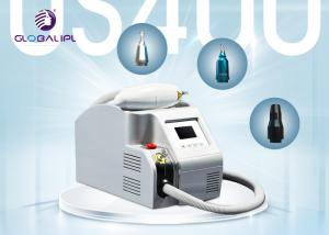 China Sapphire / Ruby Q Switched ND YAG Laser Tattoo Removal Machine 1400mj , 1064nm / 532nm on sale