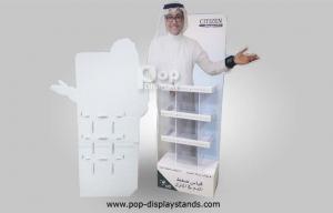 China Cardboard Cutout Standee Display Life Size 350Gram CCNB Paper Board on sale