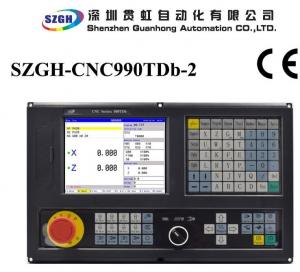 Quality Updated Plc Ladder Cnc Lathe Controller Matching With Servo Engine Or Stepper for sale