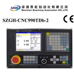 Quality Updated Plc Ladder Cnc Lathe Controller Matching With Servo Engine Or Stepper Engine for sale