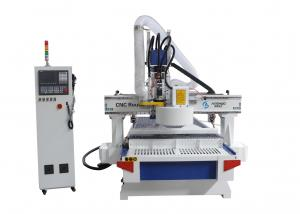 China Disc Type Tool Changer CNC Wood Cutting Machine / Cnc Router Machine For Wood on sale